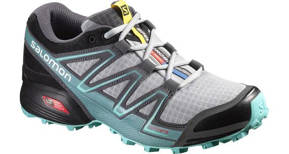 Salomon Speedcross Vario Hardloopschoenen Dames grijs/turquoise